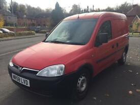 VAUXHALL COMBO 17 CDTI RED HPI CLEAR FSH NO VAT