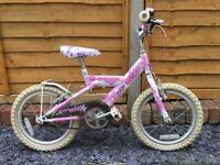 Girls Bike - Raleigh Miss Kool - 16 inch wheels