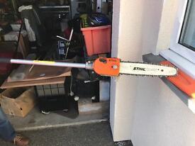Stihl multi-tool chainsaw attachment