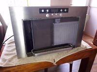 Whirlpool integrated microwave grill mint condition