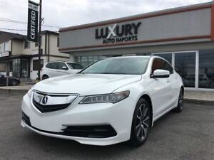 2015 Acura TLX V6 TECH PACKAGE - NAV- BLIND SPOT-63 k