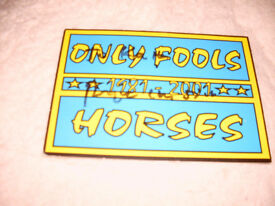 SIGNED TICKET BY TRIGGER FROM FOOLS AND HORSES