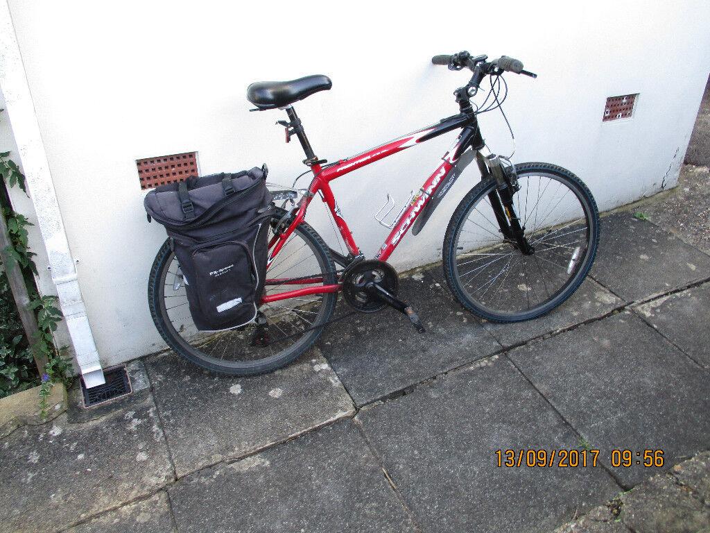 Gents bicycle Gents 21 gear Schwinn Frontier Bike £75.00 O.N.O.