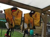 2 x Life jackets for £30