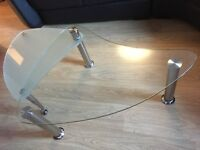 Extending Glass Coffee Table *Price Reduced * *Must Go*
