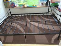 King Size Iron Bed with Mattresses for sale