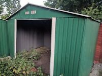 Large metal shed free to collect
