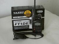 Yaesu FT1DE VHF/UHF Handheld Transceiver