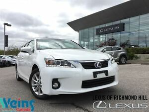 2013 Lexus CT 200h ONLY 26 KMS/ONE OWNER