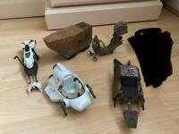 Star Wars bundle of 5 x various ships and vehicles