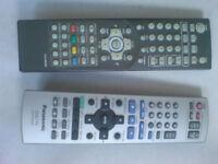 DMTech LC03-AR028A Remote Control & PANASONIC EUR7720KBO Remote Control