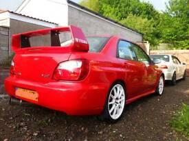 2003 Subaru Impreza WRX (STi engine running VF34 turbo @ around 350bhp) Cheap PX Considered