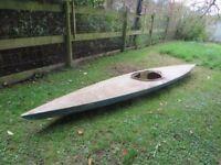 Free fibreglass Kayak 14 foot long-