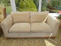 3 Piece Suite Sofa and 2 Armchairs in good condition