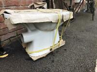 Brand new unopened toilet - unused from project