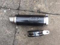 A16 moto gp carbon can 4bolt gsxr 600/750/1000 k1 K2 k3 k4 k5