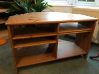 Tv stand table with shelves