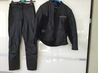 BIKERS LEATHERS ladies size 8 jacket 10 trousers