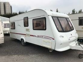 2004 elddis avante Fixed Bed swift abi lightweight caravan Px poss