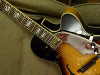 Shine acoustic/electric archtop jazz guitar. SH-944SB
