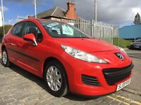 PEUGEOT 207 1.4 S, 59 PLATE 2009....EXCELLENT VALUE...50 MPG....£110 ROAD TAX...