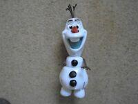 """Disney Frozen talking Olaf 14"""""""