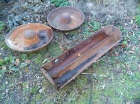 Pig troughs ,very heavy ,