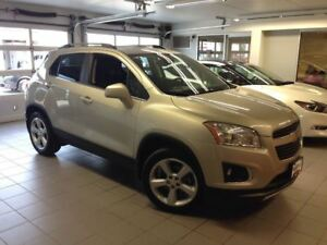 2015 Chevrolet Trax LTZ/1 OWNER LOCAL TRADE!!!