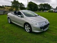 Dec 2007 PEUGEOT 307 CONVERTIBLE. 2.0 HDI..MOTED TO AUGUST 2018..POSSIBLE PART EXCHANGE