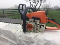 "Stihl ms 250 chainsaw,16"" Oregon bar/chain"
