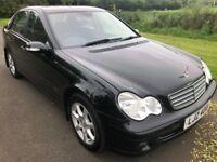 2006 Mercedes C-Class Facelift 220CDI CLASSIC SE Auto FSH 1 owner 1yrs Mot 6mth warranty