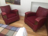 2 Art Deco Arm chairs