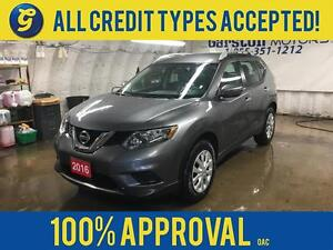 2016 Nissan Rogue S*AWD*BLUETOOTH PHONE/AUDIO*POWER HEATED MIRRO