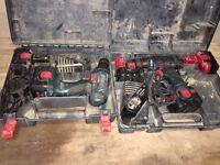 Bosch 14v drill drivers x2
