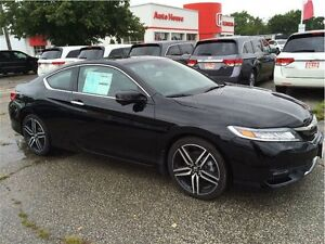2016 Honda Accord Touring V6 2DR- BRAND NEW!
