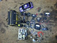 Radio RC Control Model Car Traxxas Stampede Battery type & Loads extras