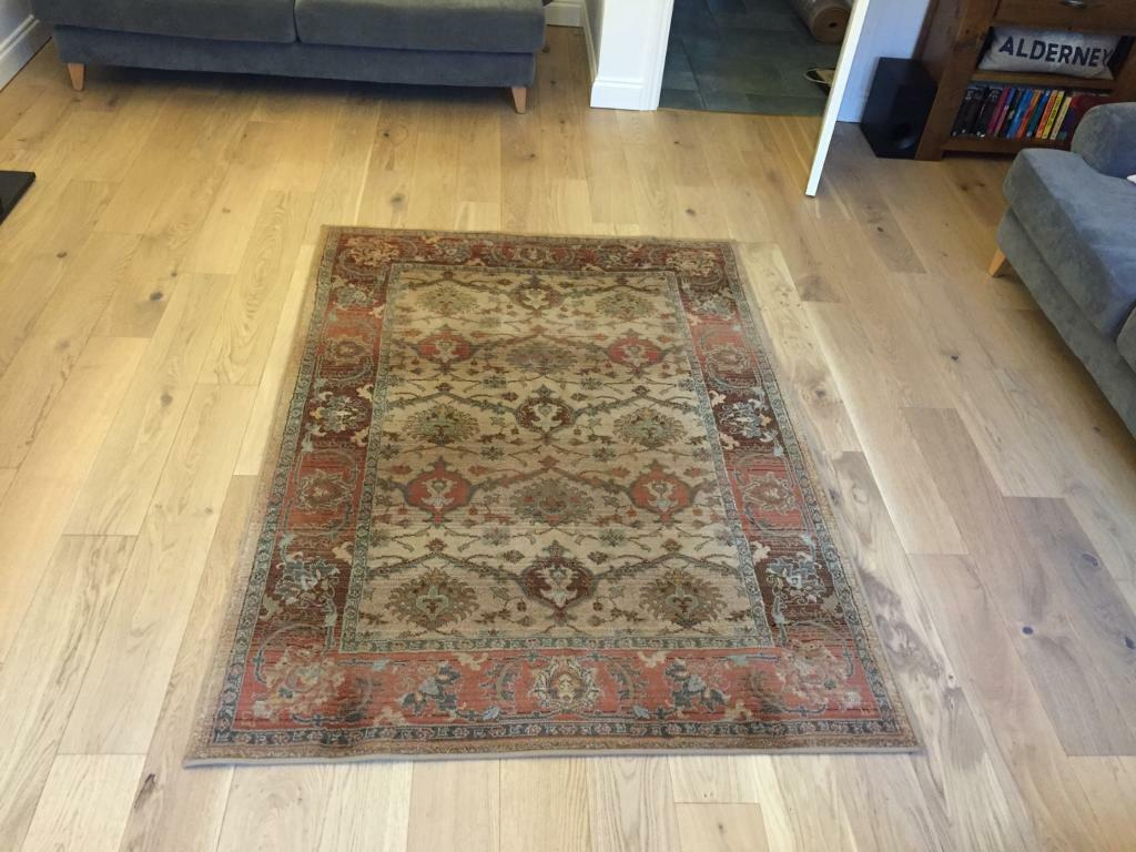 Next Rug Vibrant Border Rug Gold In Totton Hampshire