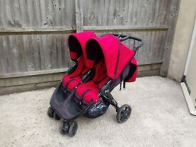 Double buggy - Britax B-agile. Very good condition
