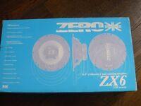 Zero ZX6 150W Cars Speakers brand new