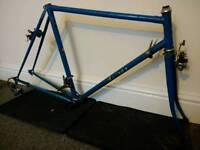 Rotrax retro racing bike frame - vintage reynolds steel