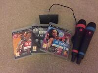 PS3 Singstar bundle
