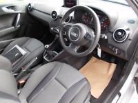 AUDI A1 1.6 TDI SPORT 3d 103 BHP (silver) 2012