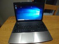 ASUS K55A Laptop running Windows 10