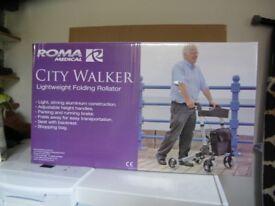 4 Wheel Walking Frame Mobility Aid