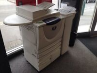 Xerox WorkPro 255 black and white laser printer/photocopier/scanner. Being sold for spares.