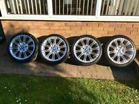 "BMW 18"" MV2 Alloy Wheels, Alloys & Tyres"