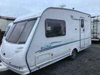 Stirling Eccles topaz/2berth 2004 full awning Good condition px welcome