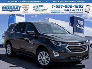 2018 Chevrolet Equinox **Rear Vision Camera! Heated Front Seats!