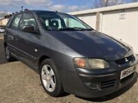 MITSUBISHI SPACESTAR 1.6 PETROL / AUTOMATIC / ONLY 58000 MILES / MOT TILL AUGUST 2018 / £750