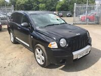 2007 Jeep Compass 2.0 CRD Limited Station Wagon 4x4 5dr/ Diesel / 3 Month Warranty / HPI CLEAR